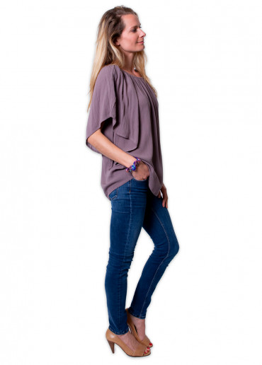 Top ALIZEE Taupe