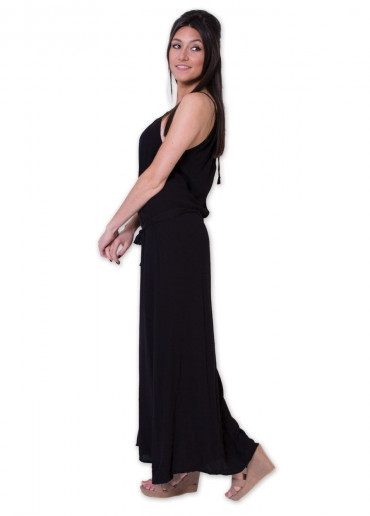 Robe longue ANGELINE Noir