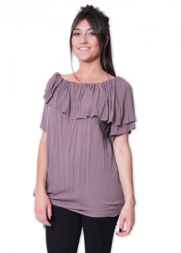 Top CHARLINE Taupe