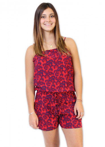 Combi-short FIGUE Imprimé 31 Rouge