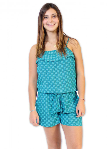 Combi-short FIGUE Imprimé 32 Bleu