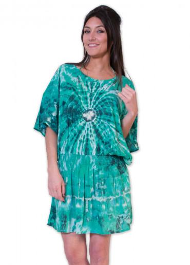Robe LOUISA Vert