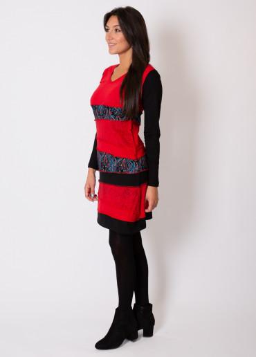 Robe MANTA Rouge
