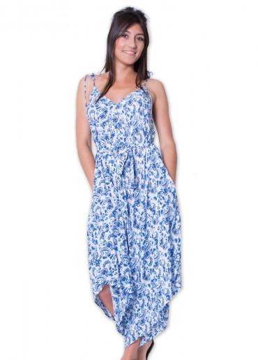 Combi-pantalon MARION Imprimé 37 Bleu
