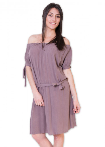 Robe MARYLINE Taupe