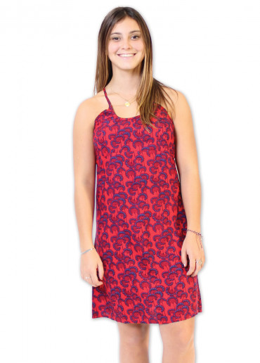 Robe NOISETTE Imprimé 31 Rouge
