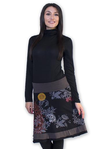 Jupe ORCHIDEE Noir