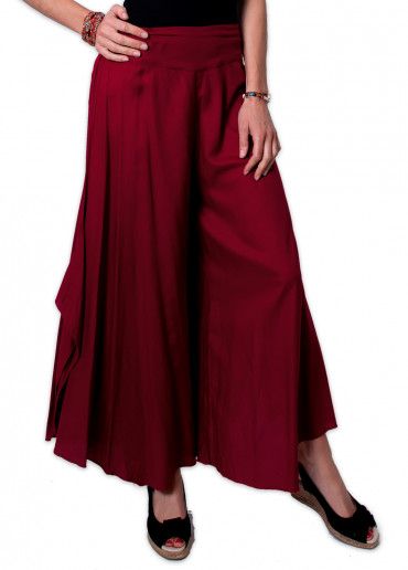 Pantalon SAMY Bordeaux
