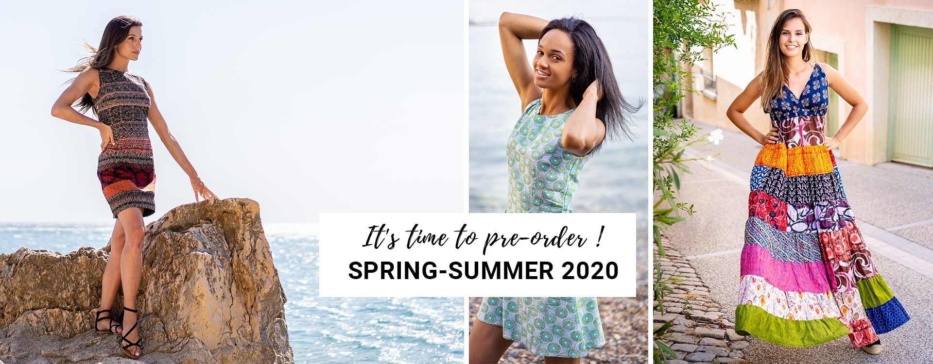 Preorder spring summer 2020 collection