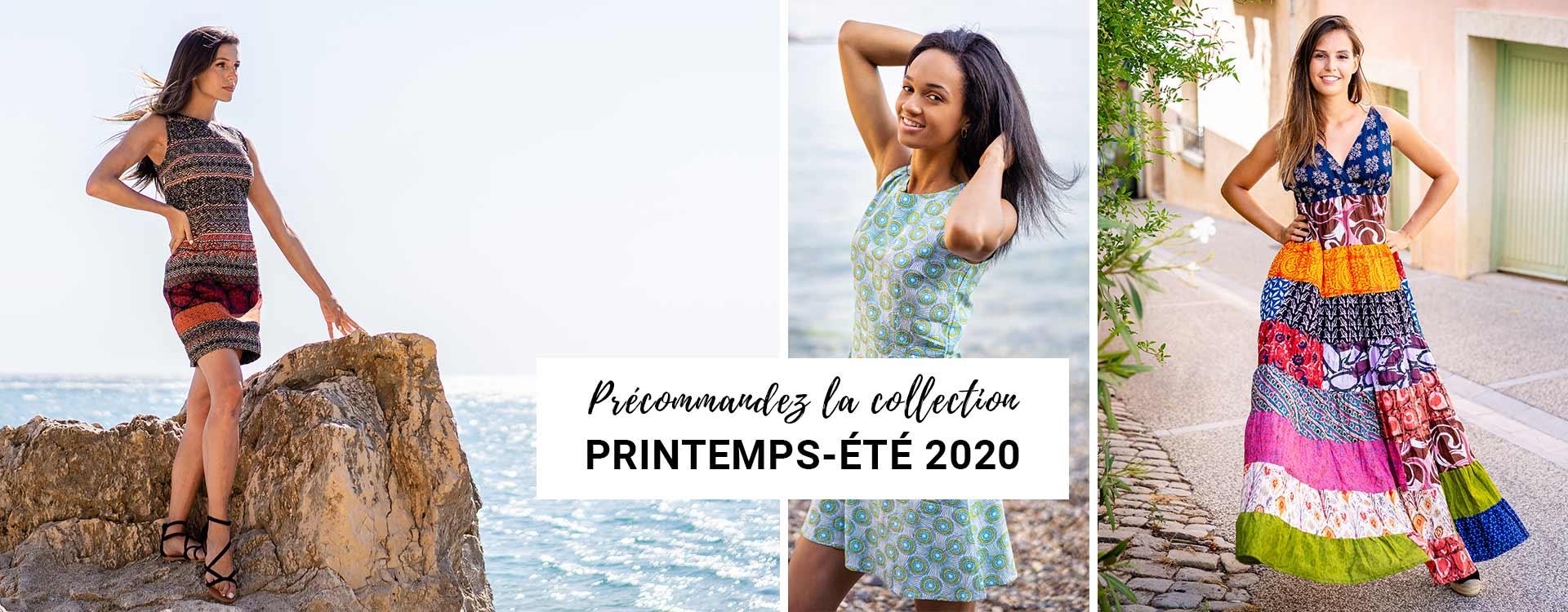 Précommandez la collection printemps été 2020
