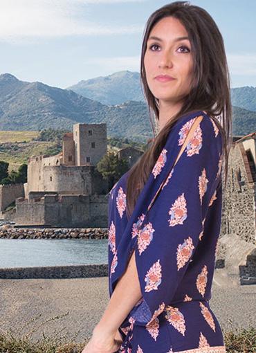 robe ethnique imprimés colorés