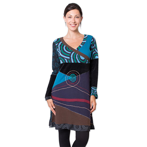 robe hiver ethnique pas cher